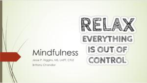 AVEC Mindfulness Presentation
