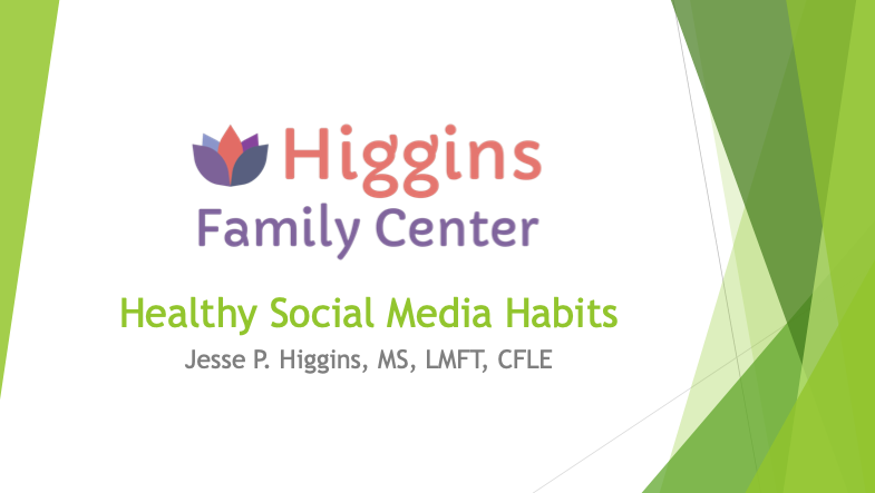 Dinner is Served – Healthy Social Media Habits